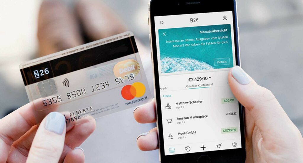 n26 funding virtual bank challenger bank