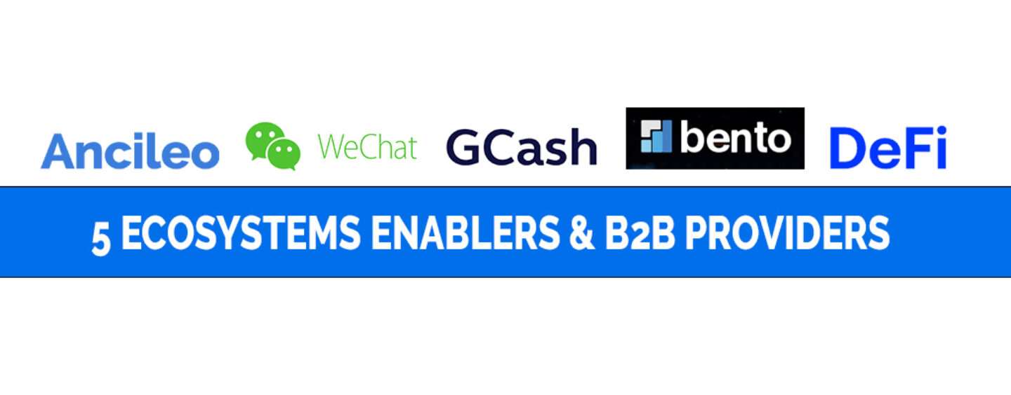 5 Ecosystems Enablers and B2B Providers for Fintech Startups in Asia