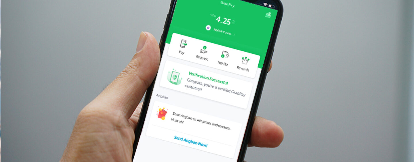 GrabPay Users Can Now Increase Transaction Limit to $SGD 30,000 After KYC Process