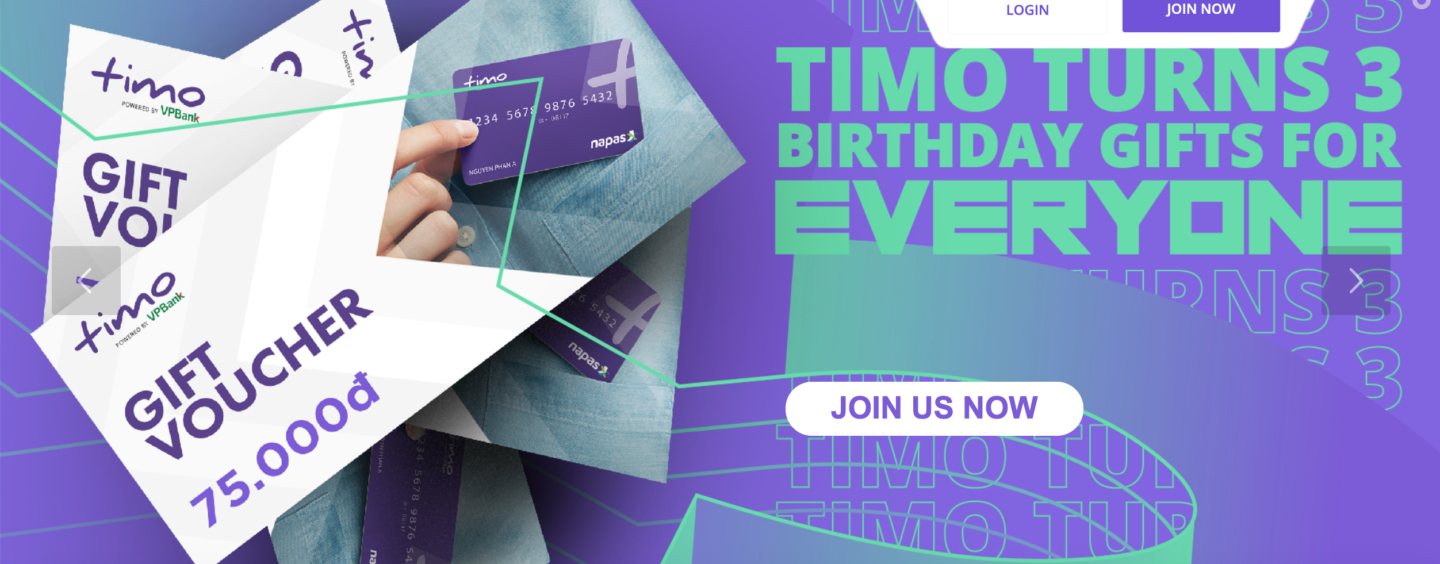 Vietnam's Digital Bank Timo Celebrates Its Third Birthday