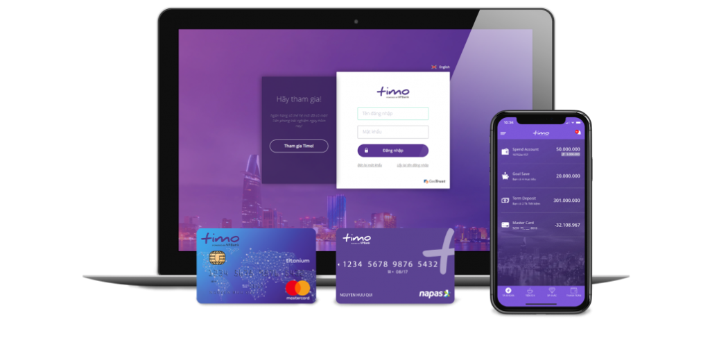 Timo platform and cards