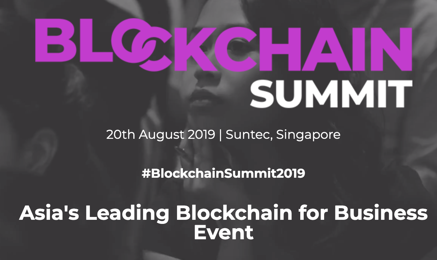 Blockchain Summit Singapore - Fintech and Blockchain Events Asia Pacific