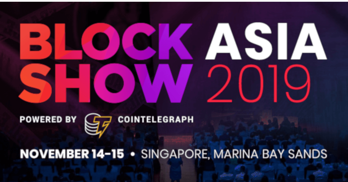 Blockshow Asia Fintech and Blockchain Event Asia Pacific