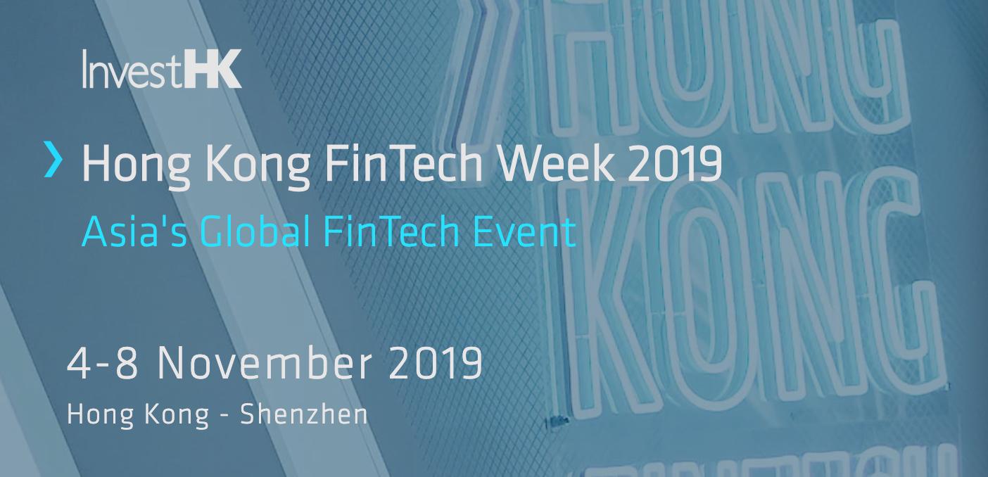 Hong Kong Fintech Week 2019 Fintech and Blockchain Event Asia Pacific