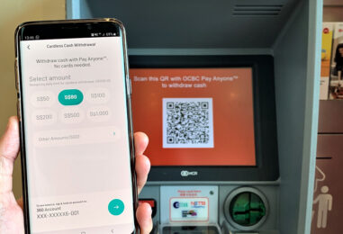 OCBC Bank Enables Cash Withdrawals at ATMs using QR Codes