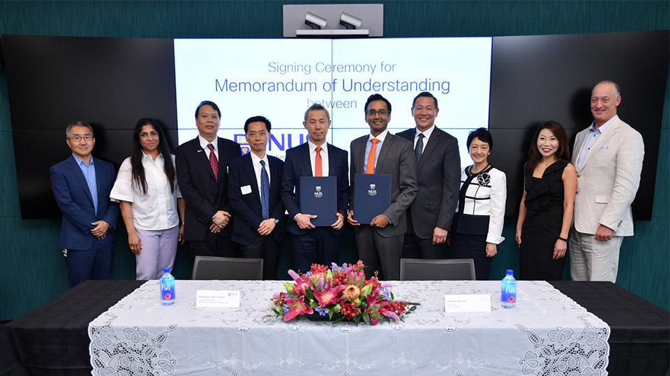NUS and Cisco team up on innovation and research