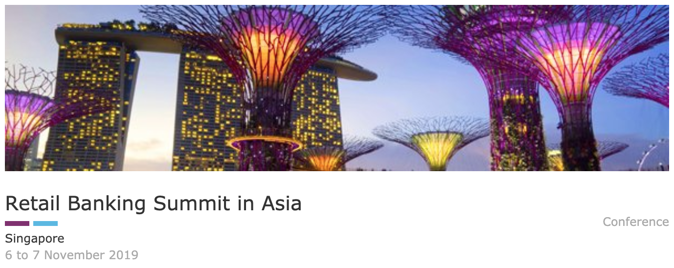 Retail Banking Summit Asia - Fintech and Blockchain Event Asia Pacific