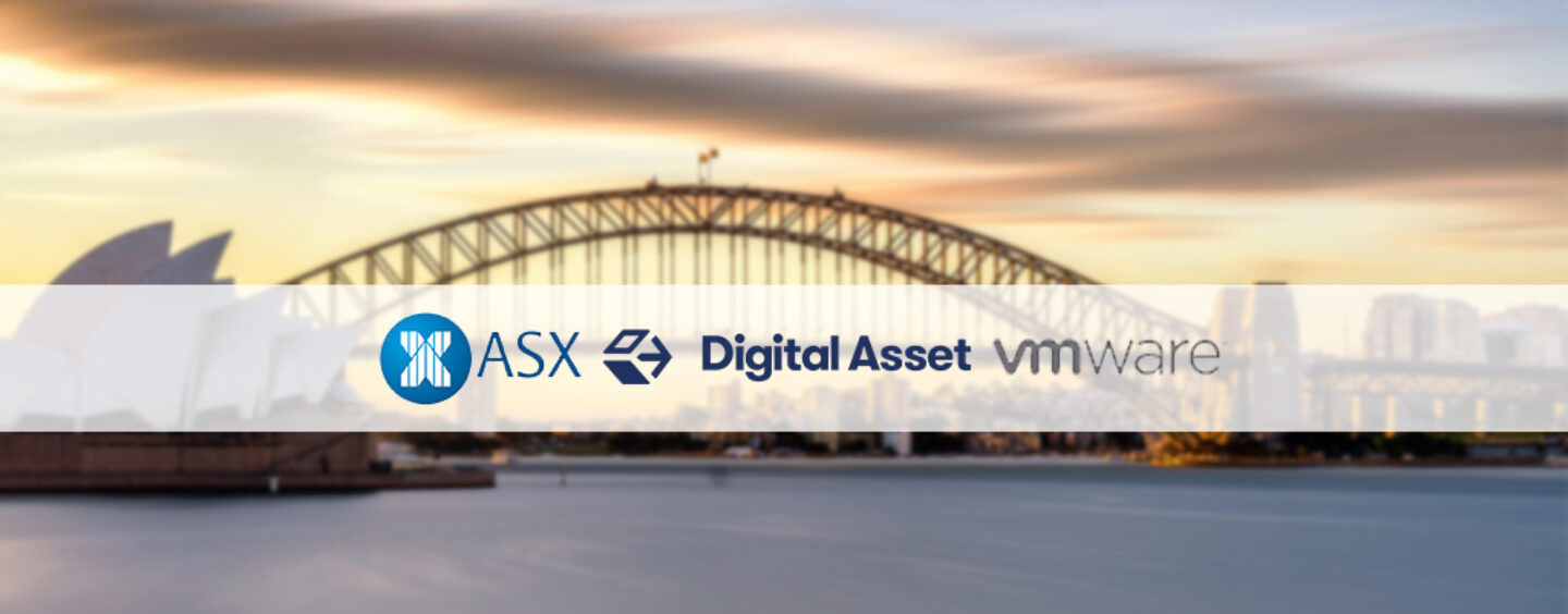 Australia Stock Exchange to Work With VMWare and Digital Assets on DLT