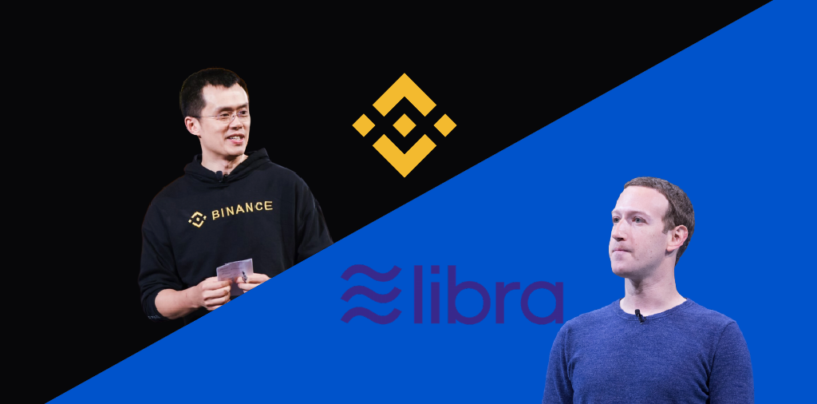 "Binance Announces ""Project Venus"" A Competitor to Facebook's Libra"