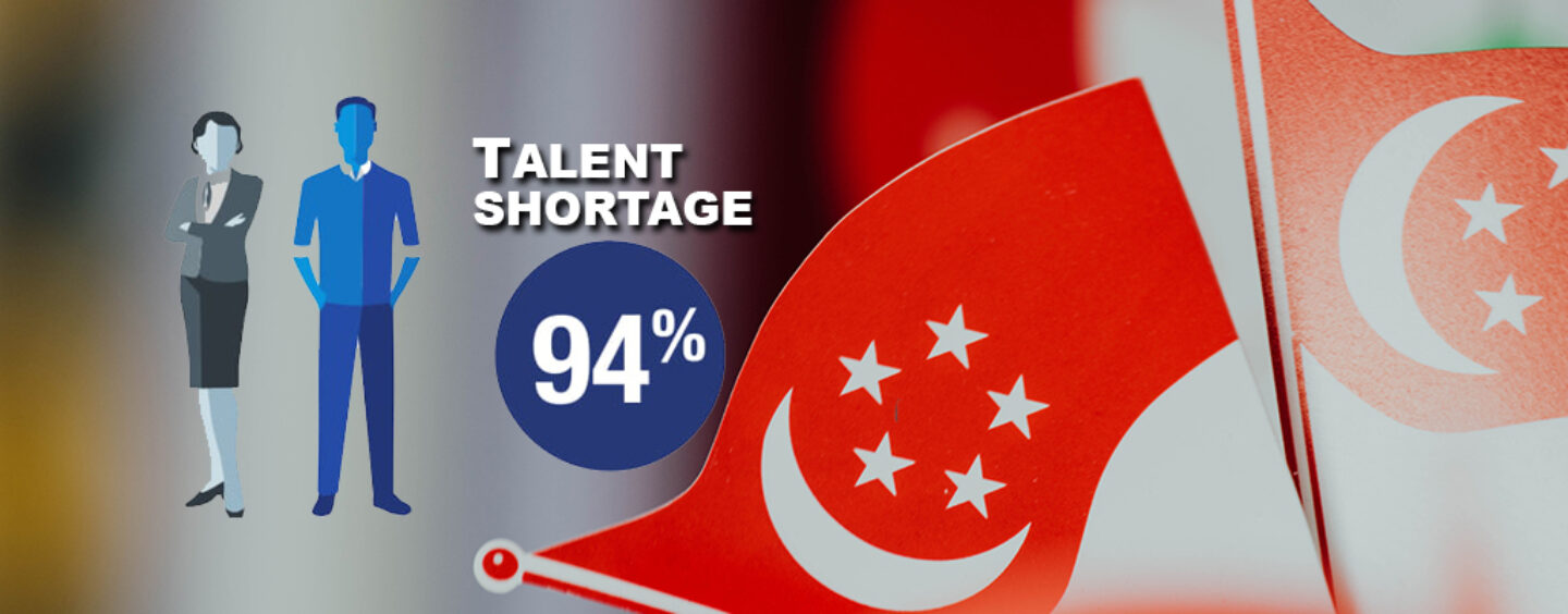 94% Fintech Firms Thinks That Singapore Faces Acute Talent Shortage