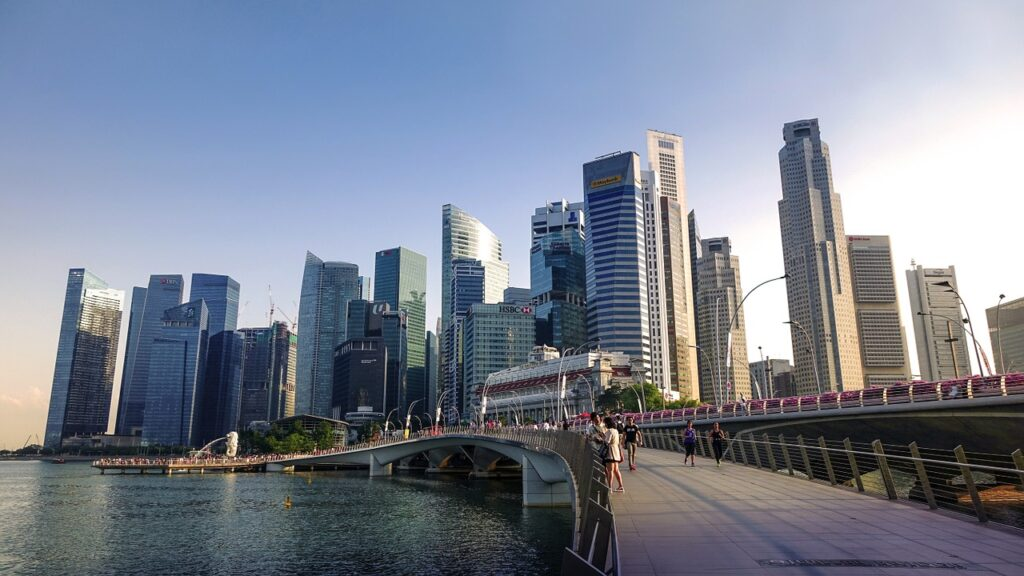 South East Asia Fintech Cities Singapore