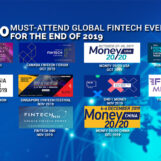 10 Major Global Fintech Events for the End of 2019