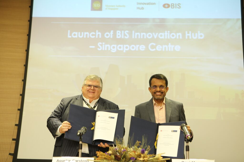 Launch of BIS Innovation Hub Centre in Singapore