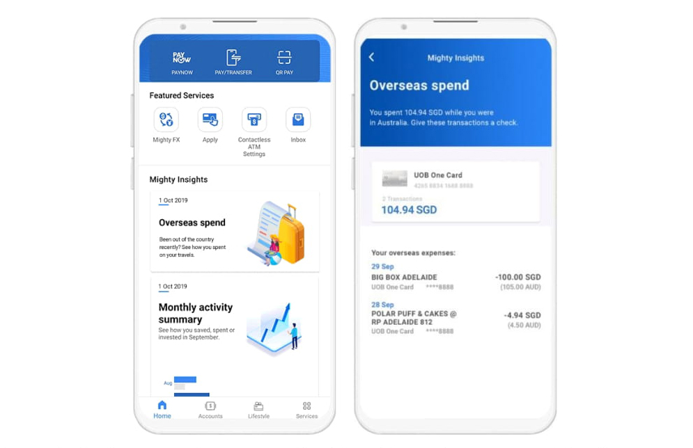 UOB launches AI-powered Mighty Insights making its all-in-one mobile banking app mightier