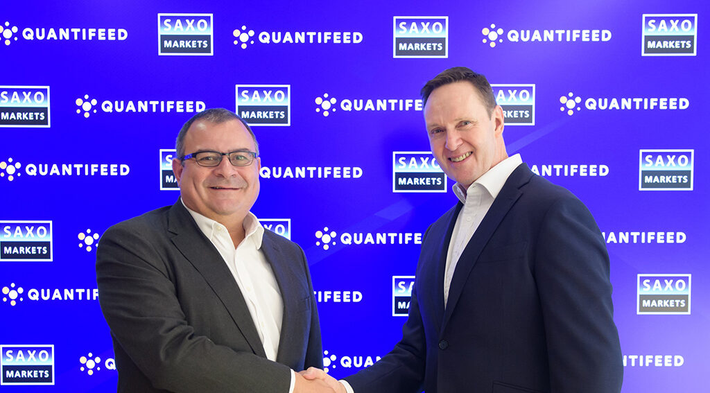 Saxo Markets and Quantifeed Announce Joint Solution to Enable Financial Advisers to Scale Quickly in a Challenging Environment