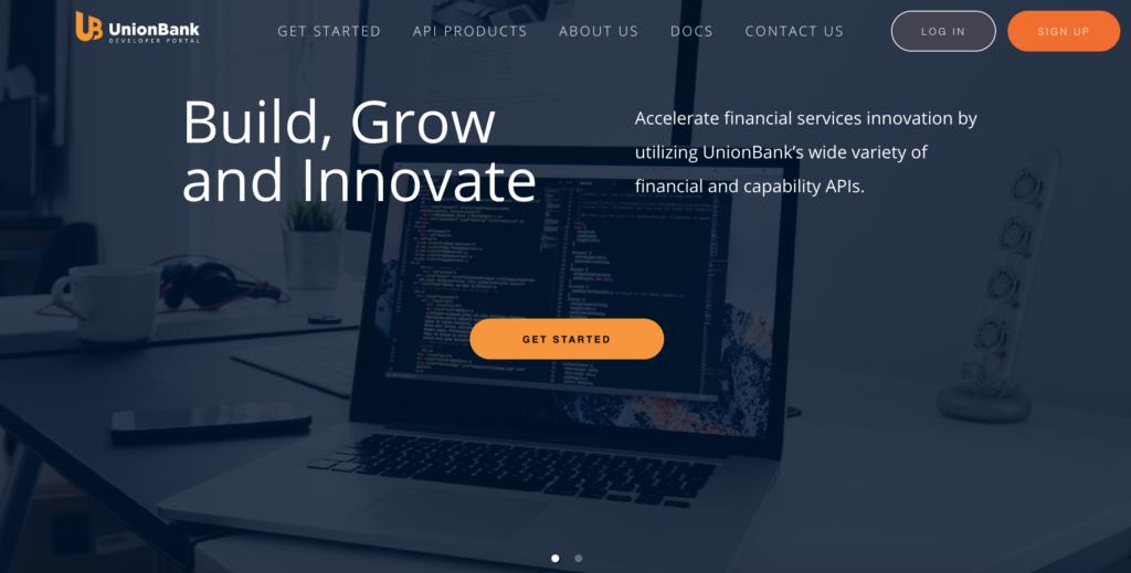 UnionBank API Developer Portal, developer.unionbankph.com