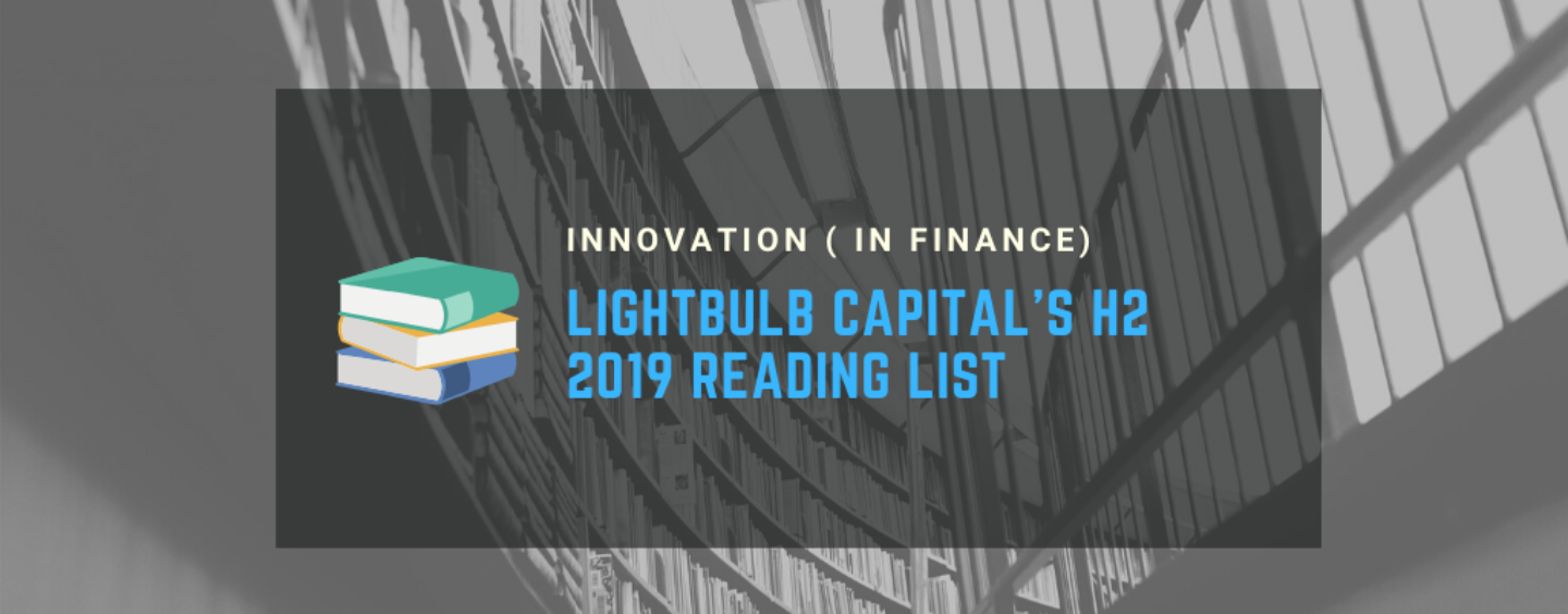 Top Innovation in Finance Books to Read this Christmas