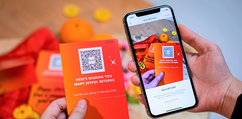 DBS' QR Ang Bao Solution Now Open to All Singaporeans with a PayNow Account