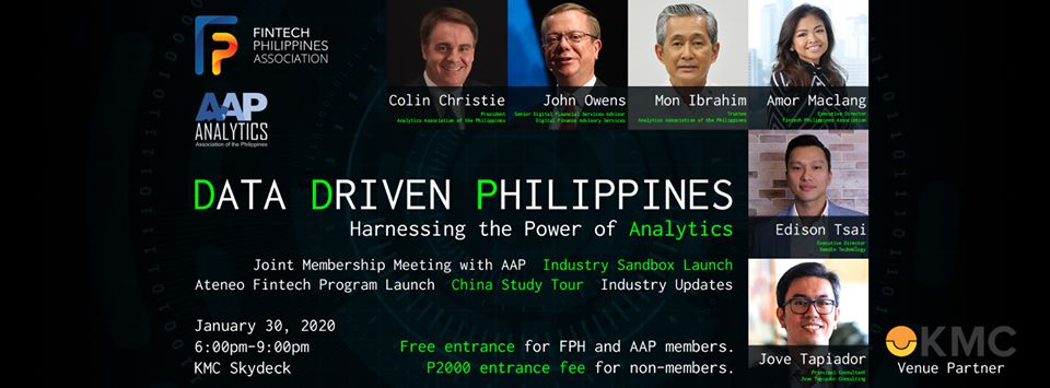 FPH January 2020 Mixer- Data Driven Philippines