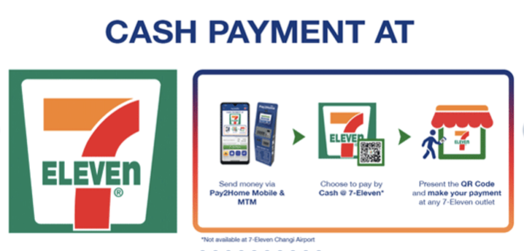 Pay2Home And 7-Eleven Singapore
