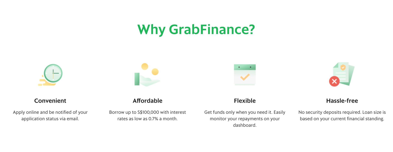 Why GrabFinance? via https://www.grab.com/sg/merchant/finance/businessloan/