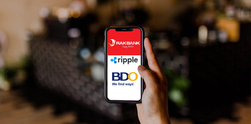 Dubai-Based RAKBANK, BDO and Ripple Teams up for Remittance to the Philippines