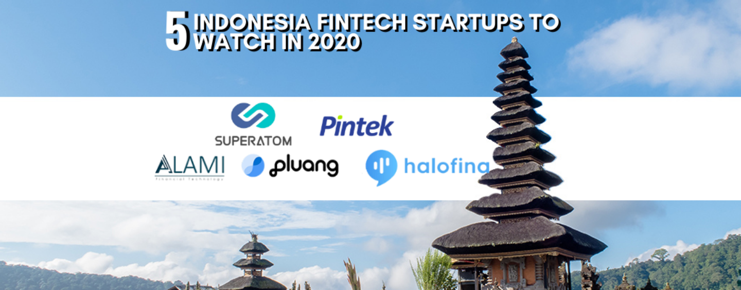 5 Emerging Fintech Startups from Indonesia to Watch in 2020