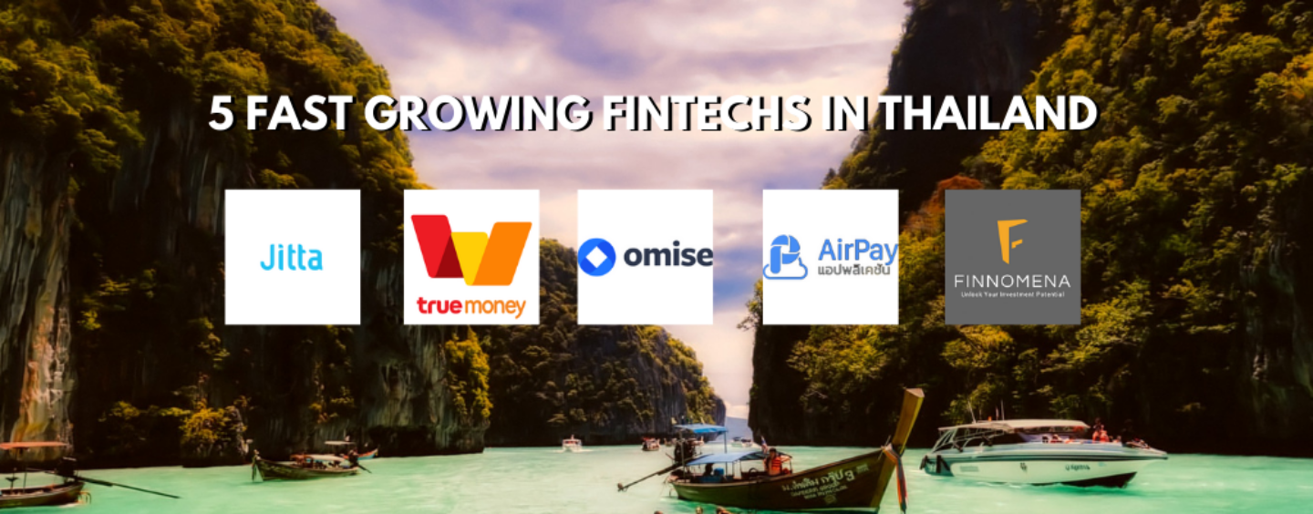 5 Fastest Growing Fintechs in Thailand According to IDC