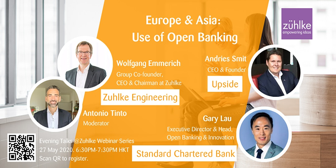 Europe & Asia- Use of Open Banking – Webinar by Zuhlke