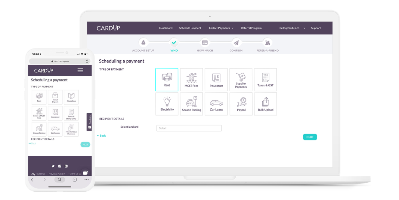 CardUp platform, Source- CardUp.co