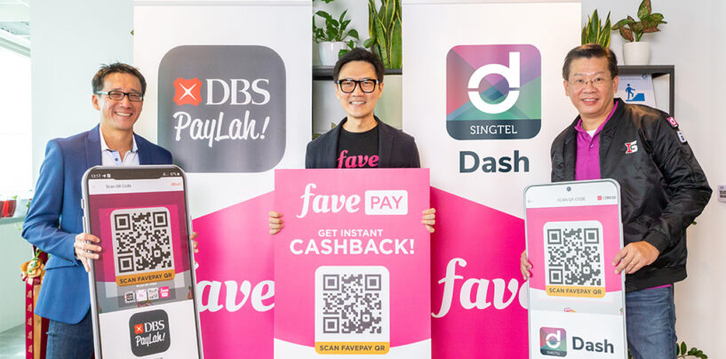DBS, Fave and Singtel Partners to Offer More Cashback to Their Customers