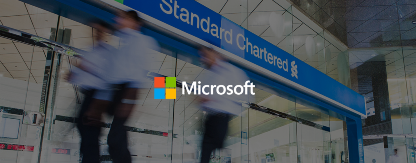 "Standard Chartered Partners With Microsoft to Become a ""Cloud-First Bank"""