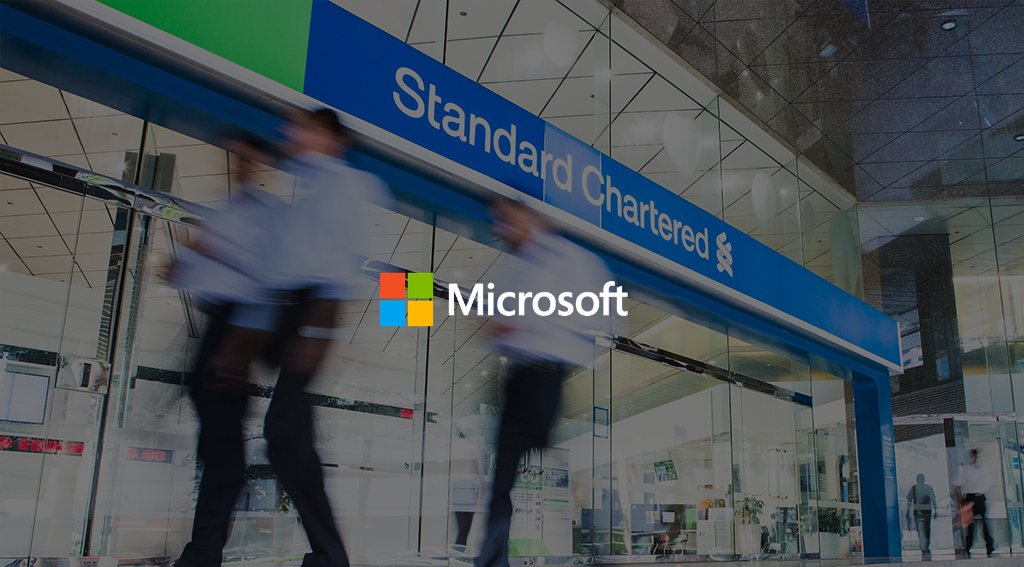 Standard Chartered Partners With Microsoft to Become a 'Cloud-First Bank'
