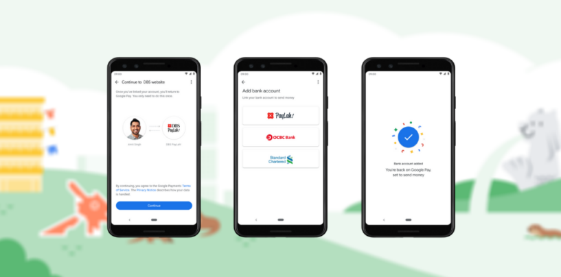 Google Pay Launches All-In-One P2P Payments Solution in Singapore