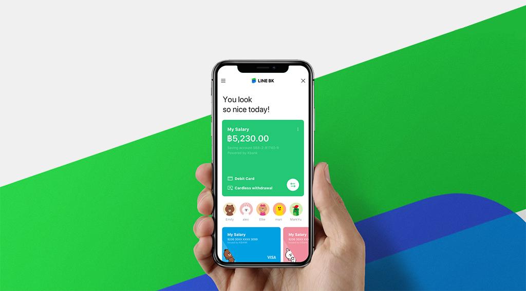 LINE Launches 'Social Banking' Platform with Thailand's KASIKORNBBANK
