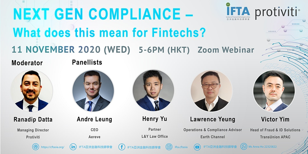 NEXT GEN COMPLIANCE – What does this mean for Fintechs?