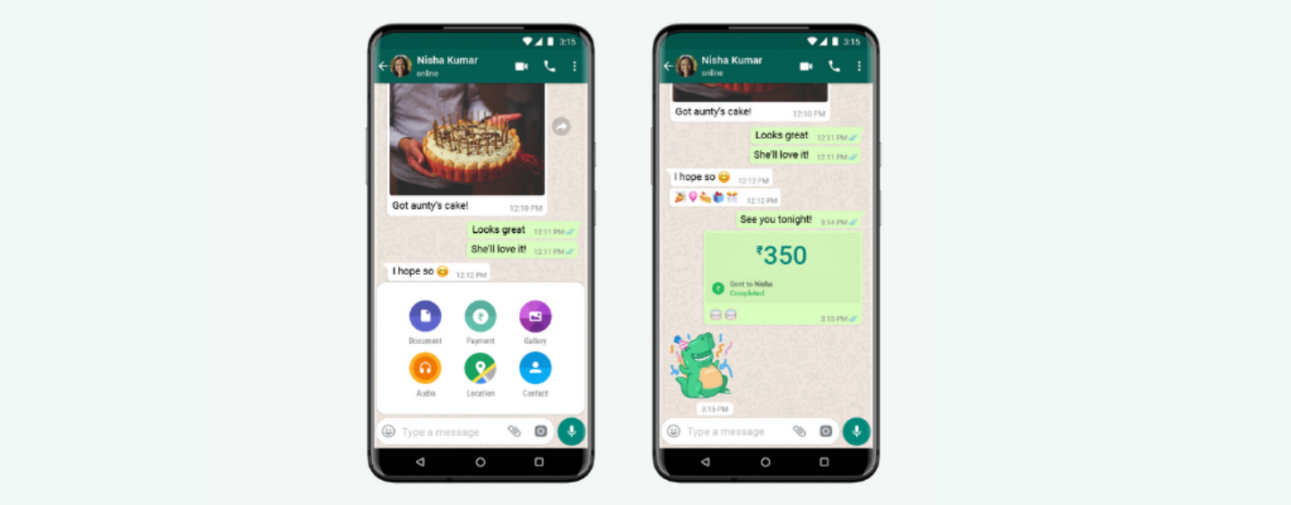 WhatsApp India Has Rolled Out Its Payment Feature