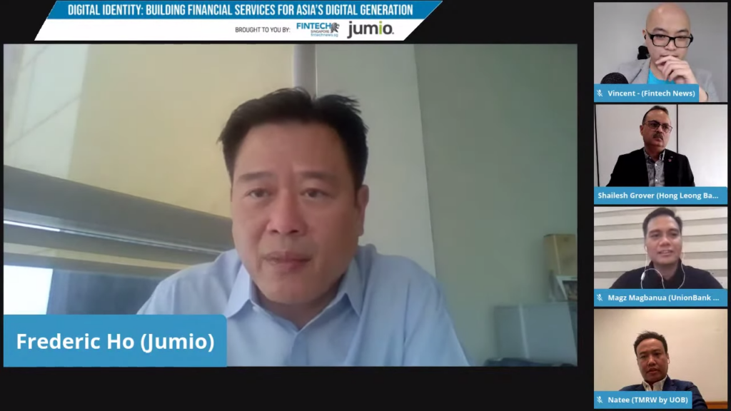 Frederic Ho, vice president for Asia Pacific (APAC) of JumioFrederic Ho, vice president for Asia Pacific (APAC) of Jumio