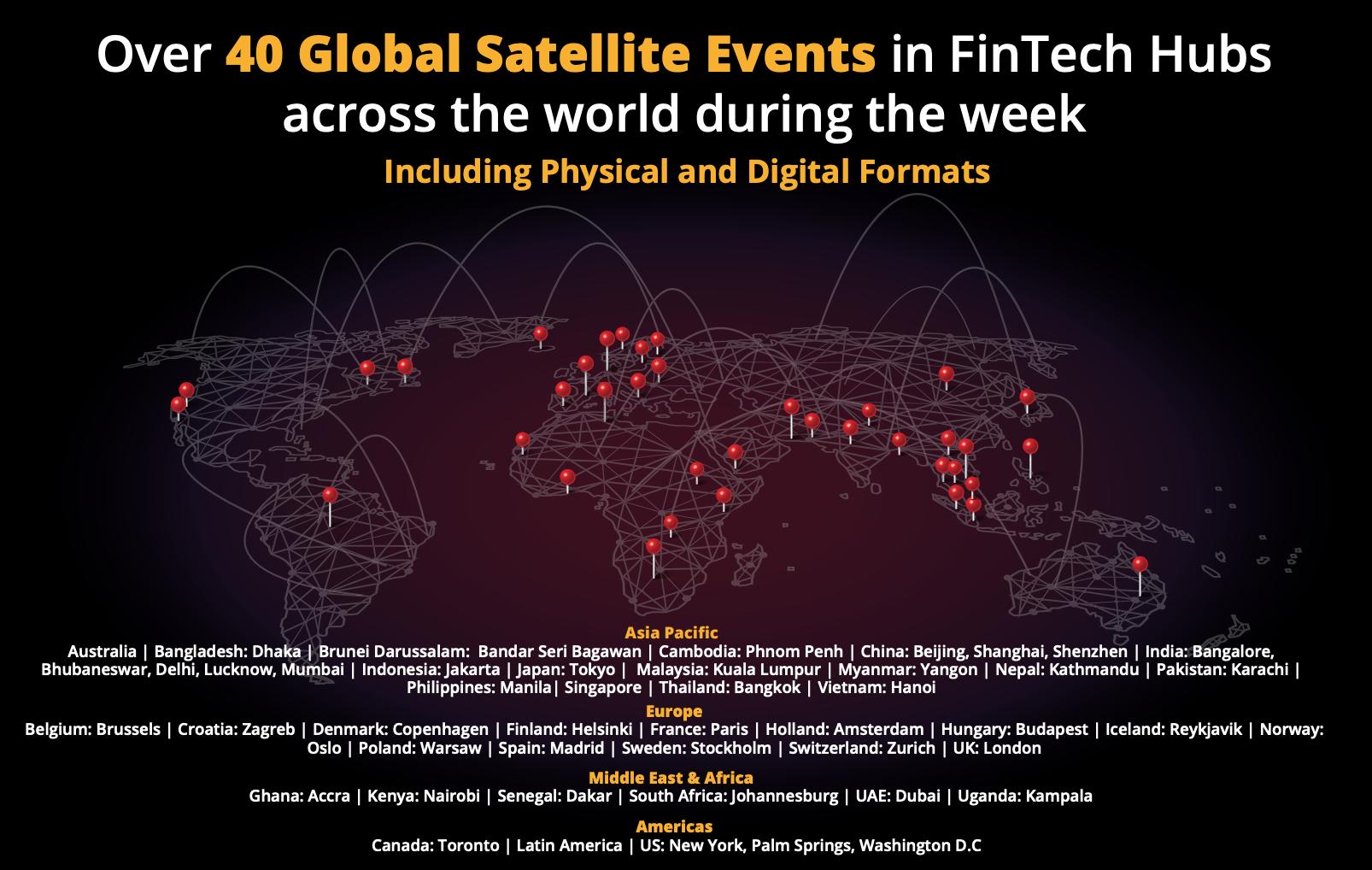 SFF 2020 satellite events, via Fintechfestival.sg