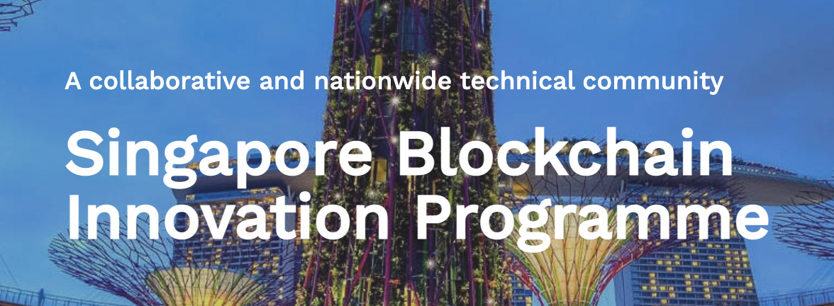 Singapore Blockchain Innovation Programme, via sbip.sg