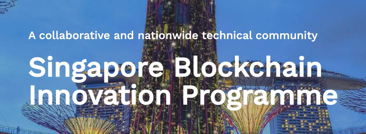 Singapore Blockchain Innovation Programme, via sbip.sg
