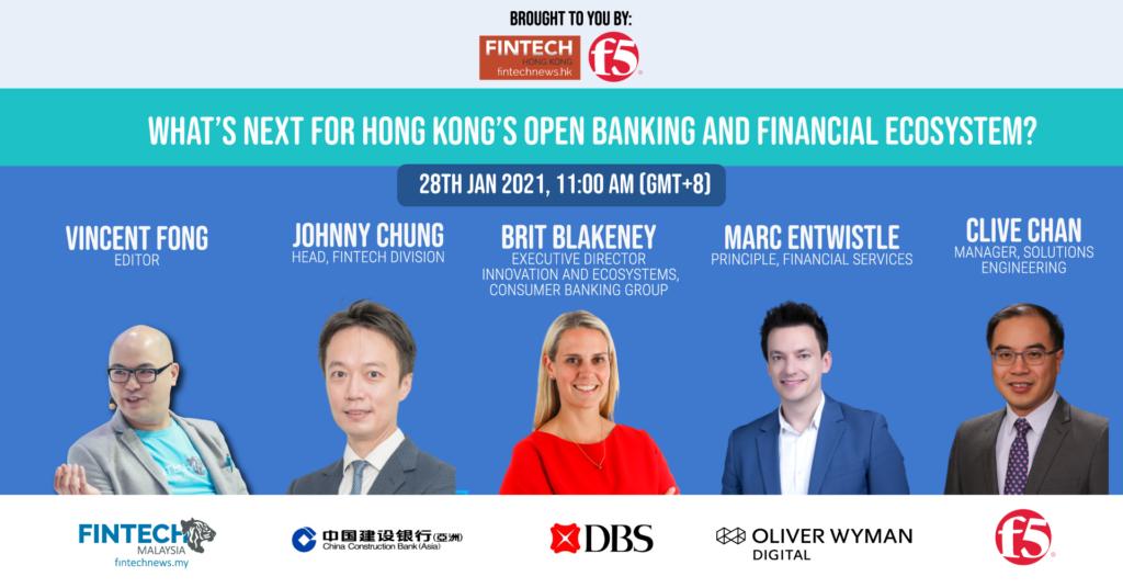 Fintech Webinars and Virtual Events Asia - Open Banking Hong Kong 2021