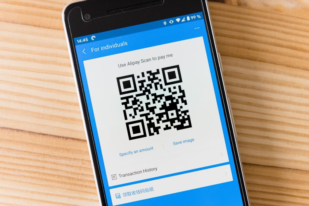 Mobile payment using a digital app