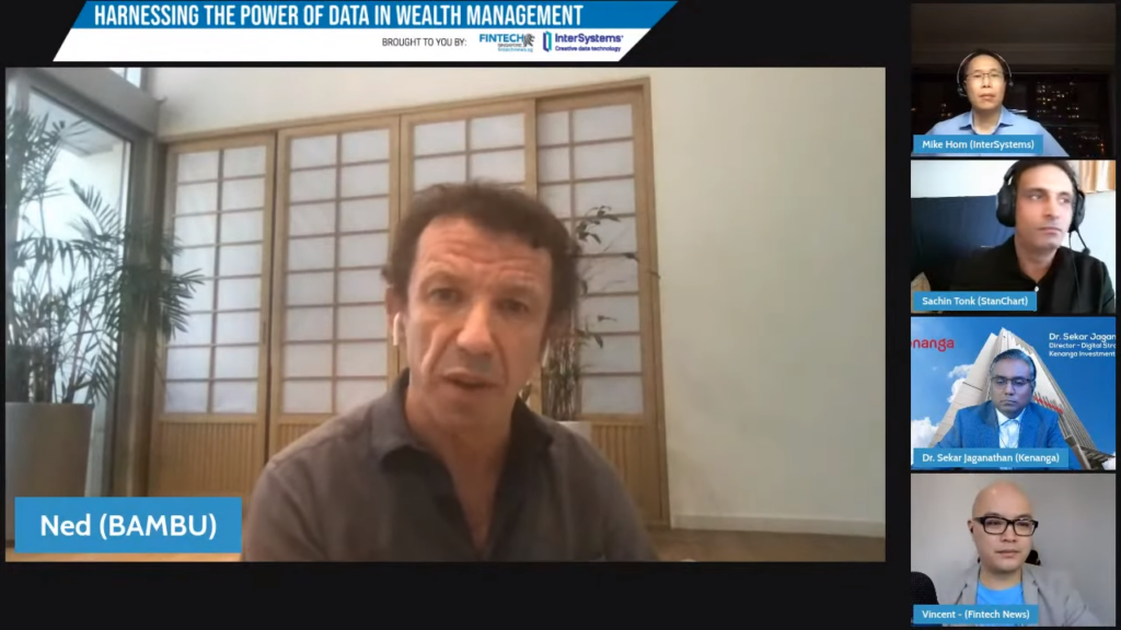 Ned Philips, founder of Bambu - Harnessing the Power of Data in Wealth Management Webinar