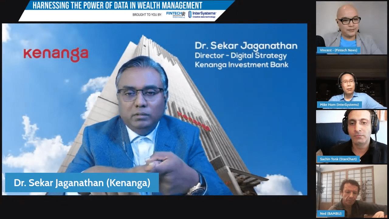 Sekar Jaganathan, Director of Digital Strategy in Kenanga Bank - Harnessing the Power of Data in Wealth Management Webinar