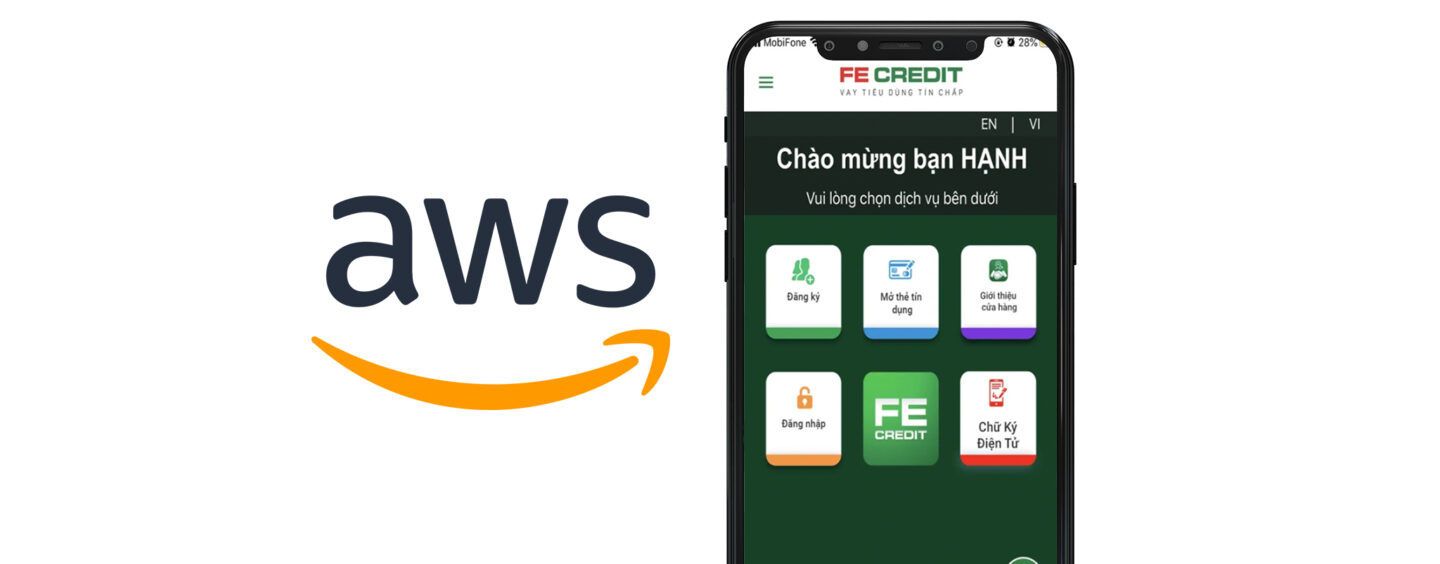 VP Bank's Subsidiary FE Credit Migrates Its Mission-Critical Apps to AWS' Cloud