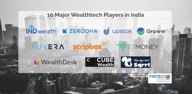 10 Major Wealthtech Players in India