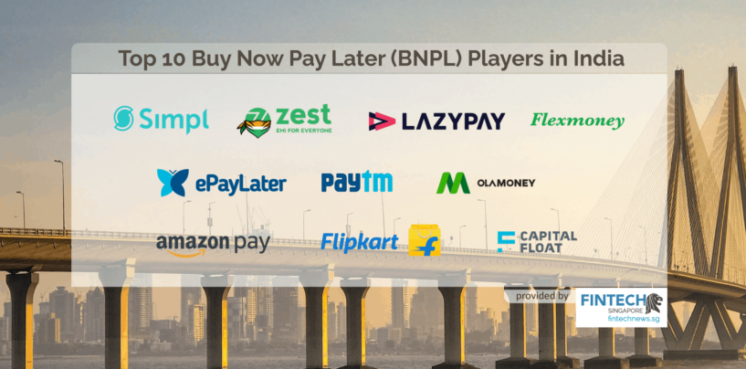 Top 10 Buy Now Pay Later (BNPL) Players in India